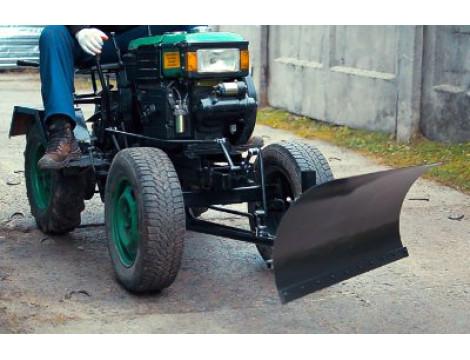 Типы креплений лопаты-отвала к мотоблоку и мототрактору