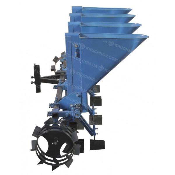 Часникосаджалка 4-рядна (збільшені ложки D=34 MM) (ЧС12)