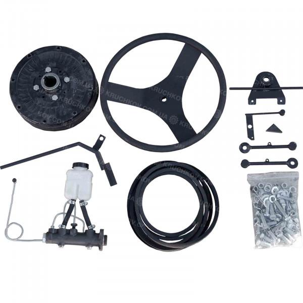 Комплект для переоборудования мотоблока в мототрактор №4 (гидр. тормоз. система) (КТ12, КТ14)
