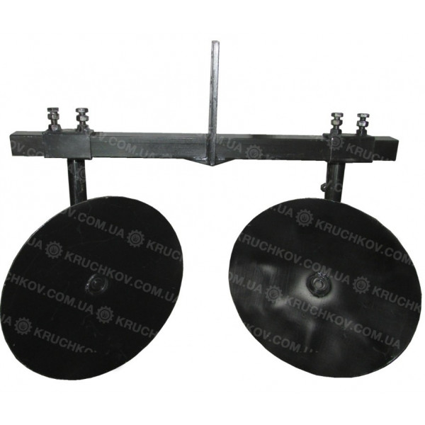Підгортач дисковий d=360 регулюємий (універсальний) + зчіпка подвійна (ПД6)