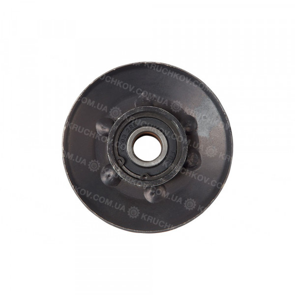 Ролик двухпазный (стальной) (ПМд8)