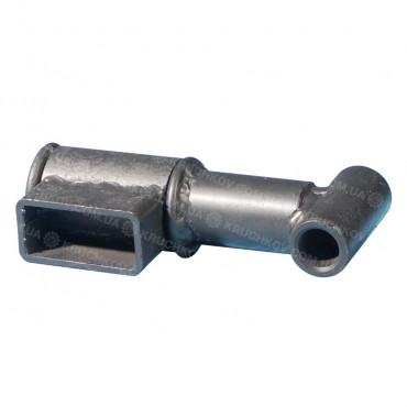 Сцепной узел прицепа короткий под втулку Zirka-105 (ВЗд8)