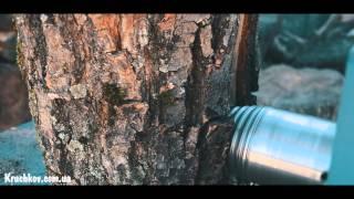 Дровокол-измельчитель веток под электродвигатель