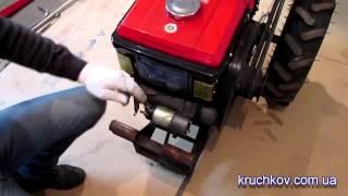 Разборка мотоблока для переоборудования в мототрактор
