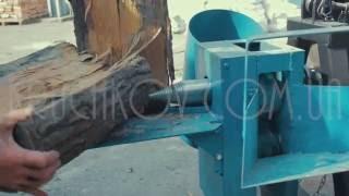 Измельчитель веток-дровокол к минитрактору (конструкционные изменения)